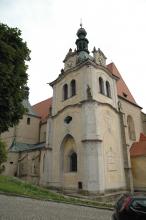 Klášterní kostel jména Panny Marie v Chyši