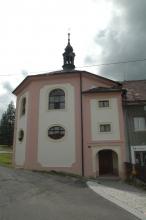 Špitální kostel Nejsvětější Trojice v Teplé